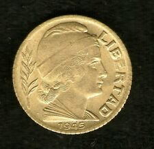 ARGENTINA COIN 5 CENTAVOS 1945 ALUMINIUM-BRONE KM#40 UNC