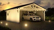 NEU Premium Carport 5.90 x 5.90 mit Geräteraum 33% Onlinerabatt Carport ab Werk