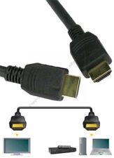 """1.5ft/18"""" short HDMI Gold Cable/Cord HDTV/Plasma/TV/LED/LCD/DVR/DVD1080p $SHdisc"""