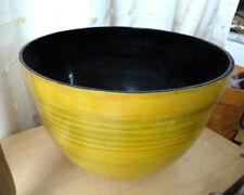 Vintage Lacquer X Large Art Bowl Modern Lacquer ware
