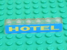 LEGO vintage electric light brick HOTEL 3009px12