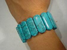 Butw Turquoise Polished Fourteen Stone Bracelet 7232C