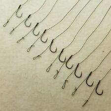 10 x HAIR RIGS VARIATIONS FLYNSCOTSMAN TACKLE FISHING COARSE CARP BRAID or MONO