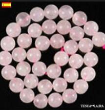 abalorios 90 bolitas cuarzo rosa se envia desde Spain