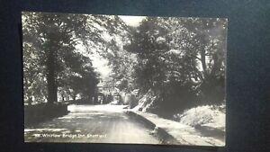 Whirlow Bridge Inn Sheffield demolished 1938 - Vintage Real Photo Postcard