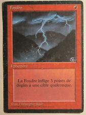 Lightning Bolt  French FBB/Foreign Black Bordered  Mtg Magic
