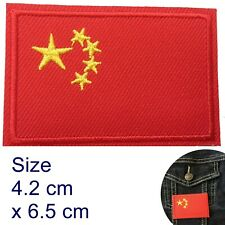 People's Republic of China Flag iron on patch Chinese Beijin iron-on patches