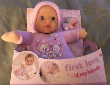 Zapf Creation My Little Baby Born First Love Hold My Hands Doll BNIB