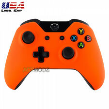 Soft Touch Orange Protector Front Shell Cover Repair Kit for Xbox One Controller