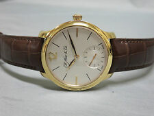 H. Moser & CIE 18k Rose Gold Mayu With Box & Papers