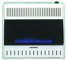 PROCOM HEATING INC Blue Flame Gas Wall Heater, Dual Fuel, Vent-Free, 30,000-BTU