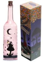Moonlight Fairy Dream Decorative Vintage Bottle With LED Light String Lamp Pink