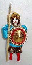 UNIQUE ~ Beautiful Russian Doll ~ Christmas Ornament ~ SOLDIER ~ NEW