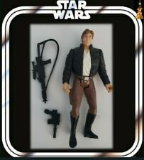 """STAR WARS 3.75"""" CLASSIC POTF2 HAN SOLO BESPIN FIGURE KENNER 100%COMPLETE"""