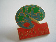 PINS PLANETE PLUS PLANET ECOLOGIE