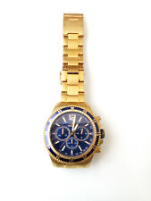 INVICTA 13978 Specialty Collection Chrono Blue Dial Gold Tone Stainless Steel