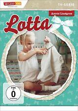 Lotta aus der Krachmacherstraße - TV-Serie - Astrid Lindgren # DVD-NEU