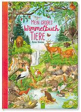 Anne Suess - Mein gro�Ÿes Wimmelbuch Tiere