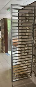 Villeroy And Boch Subway Radiator Room Divider Chrome Ex-Display  RRP £1072