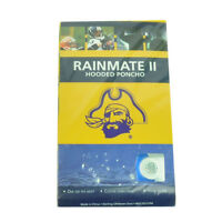 NCAA East Carolina Pirates Hooded Poncho Rain Weather Storm Yellow Adult One Fit
