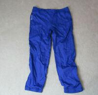 VINTAGE Sergio Tacchini Windbreaker Pants Adult Extra Large Blue White Tennis *