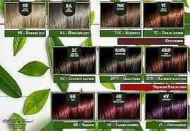 NOURISHING PERMANENT HAIR COLOUR HERBAL TIME PHYTOCARE