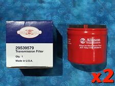 Allison 29539579 transmission spin on filter authentic Duramax T1000 2 PACK