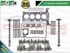 FOR PEUGEOT BOXER 2.2 HDi CYLINDER HEAD REBUILD SET FWD + CAMS ROCKER CARRIER