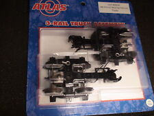 O-SCALE ATLAS #66035 FRICTION BEARING CABOOSE TRUCKS ASSEMBLY 3 RAIL