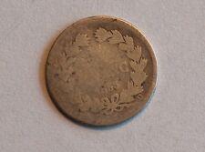 FRANCE 1/2 franc 1833 D - Silver, argent demi