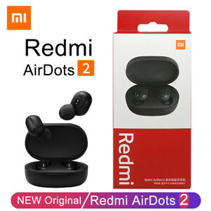 ✅ Auricolari cuffie Bluetooth 5.0 XIAOMI REDMI AIRDOTS 2 Wireless android iphone