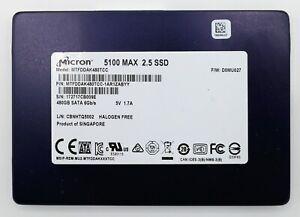 Micron 480GB 5100 MAX SSD TLC SATA 4,400 TB Write Endurance MTFDDAK480TCC
