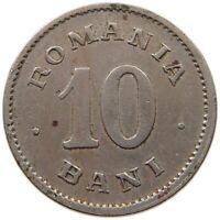 ROMANIA 10 BANI 1900 #s34 361