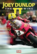 Joey Dunlop - The TT Wins (New DVD) Isle of Man Motorcycle Road Racing Bike