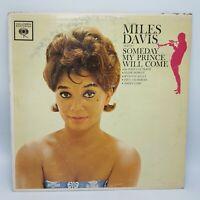 MILES DAVIS Someday My Prince Will Come 1963 MONO '2-eye' variation VG