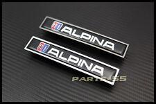 NEW CHROME ALPINA SIDE DOOR DECAL BADGES EMBLEM FOR BMW M3 M5 E36 E39 E46
