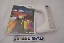 LOT WHEELSPIN + VOLANT Wii (envoi suivi, vendeur pro)