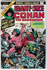 GIANT-SIZE CONAN #5 (FN-) Sword & Sorcery 1975 Big 68 Pages! Jack Kirby Cover!