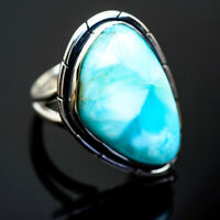 Larimar 925 Sterling Silver Ring Size 6.25 Ana Co Jewelry R997884F