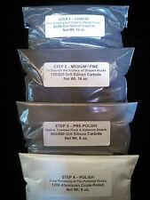 Rock Tumbling Grit Polish Silicon Carbide Kit 15Lb Tumbler Lortone Chicago Rough