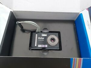 Vivitar ViviCam 8018  /  8.1 MP Digital Camera - Black *Full Working* (A)