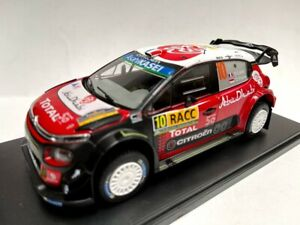 1:24 Citroen C3 WRC Loeb Rally RACC 2018 1:43 Auto