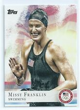Missy Franklin 2012 Topps USA Olympic Card #59