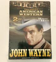 The Great American Western: John Wayne DVD 2 Disc Set Brand New Sealed