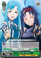 Weiss Schwarz  x 4 Asuna & Yuuki [SAO/SE26-E18 C] English
