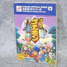 GANBARE GOEMON Derodero Dochu Douchu Guide N64 Book NT65*