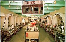 SCOTTSDALE, AZ Arizona  The WAGON TRAIN Gift Shop   c1950s  Roadside   Postcard