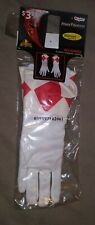Mighty Morphin Power Rangers Gloves Red Ranger Jason Kids One size fits all