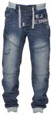 ETO 100% Cotton Mid Rise Regular Jeans for Men