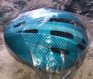 Blue kids bike helmet Boys Size 54-58cm S/m